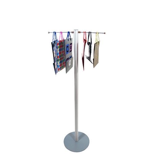 'Lite' carrier bag stand